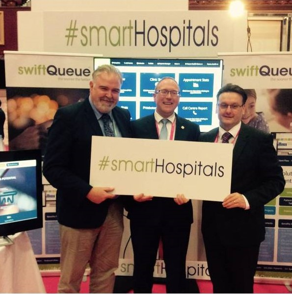 Future Health Summit 2016 swiftQueue smartHospitals SVH Tallaght Hospitals
